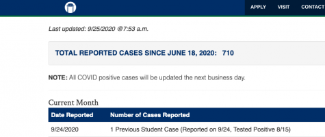 COVID-19 Case Numbers Update