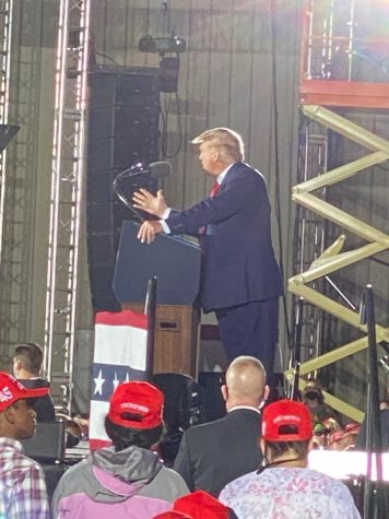 Thousands Attend President Trump