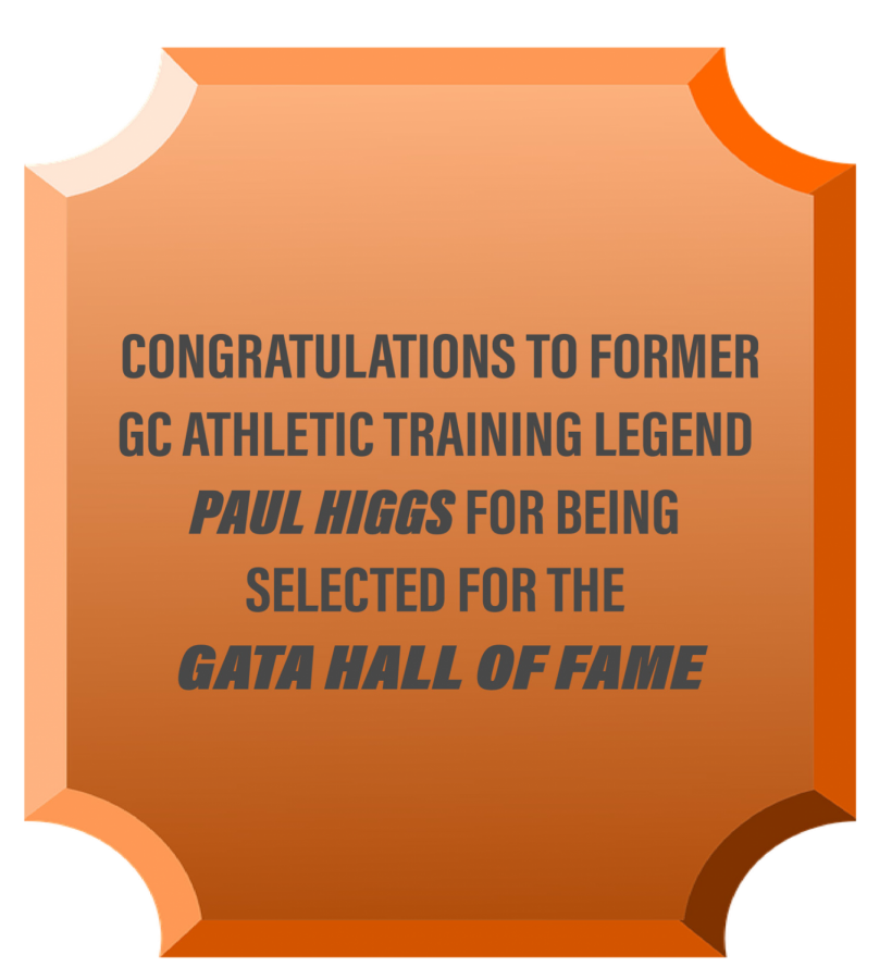 Former+GC+Athletic+Trainer+Awarded+to+Hall+of+Fame